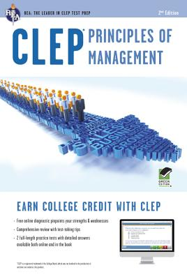 CLEP Principles of Management W/Online Practice Tests By Ogivie, John R